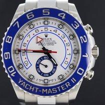 Rolex Yacht-Master II Steel Regatta 44MM, Full Set 2015 MINT