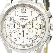 Zenith Polished Zenith Class El Primero Steel Hand-winding ...