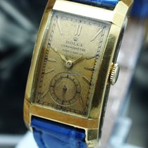 Rolex Vintage Prince Chronometer 18K Yellow Gold