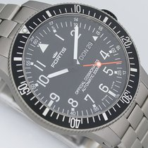 Fortis B42 Official Cosmonauts DayDate Titan