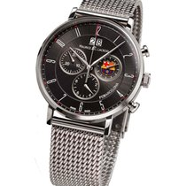 Maurice Lacroix FC Barcelona Eliros Chronograph in Steel with...