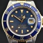 Rolex SUBMARINER  16803 ACCIAIO ED ORO  TRANSIZIONALE  BLUE...