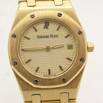 Audemars Piguet Solid 18k Yellow Gold Ladies Quartz Watch With...