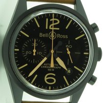 Bell & Ross Br126-94 Pvd Chronograph Automatic 42mm Mens...