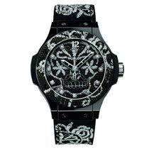 Hublot [NEW][LIMITED] Big Bang Broderie 343.CS.6570.NR.BSK16