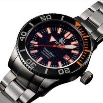 Deep Blue Ocean Diver 500 Swiss Eta 2824-2 Auto Diving Watch...