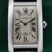 Cartier Tank Americaine XL Automatic 18k White Gold Box&Pa...
