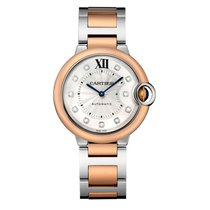 Cartier Ballon Bleu Automatic Ladies Watch Ref W3BB0007