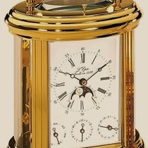 L'Epée Manufacture Ovale Swiss-made Carriage Clock –...