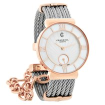 Philippe Charriol St. Tropez Ladies MOP Cable Bangle Watch...