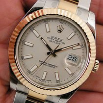 Rolex Datejust Ii 116333 Mens Steel & Yellow Gold Oyster...