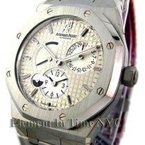 Audemars Piguet Royal Oak Dual Time Power Reserve Silver Dial
