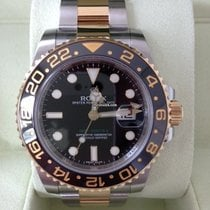Rolex Oyster Perpetual GMT-Master II Edelstahl Gelbgold 116713LN