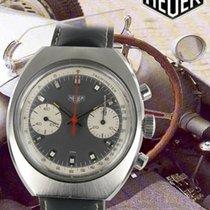 Heuer Chronograph Stahl