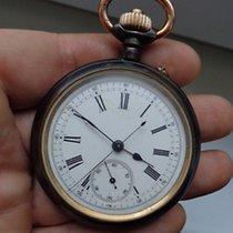 Breitling very rare antique Brevet 927 Chronograph Pocket Watch