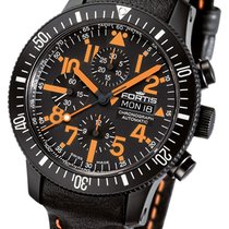Fortis B-42 Black Mars 500 Chronograph Limited Edition