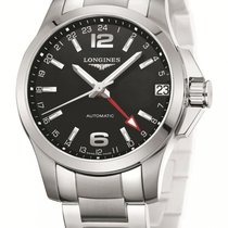 Longines Men's L36874566 Conquest Watch