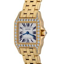 Cartier Santos DeMoiselle Model WF9001Y7
