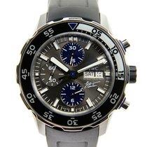 IWC Aquatimer Stainless Steel Dark Grey Automatic Iw376706