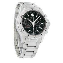 Movado Series 800 Sub Sea Black Quartz Chronograph Watch 2600076