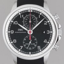 IWC Portuguese Yacht Club Chronograph 45.4mm IW390210 Complete...