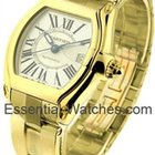 Cartier Roadster Mens Yellow Gold on Bracelet - Yellow Gold -...