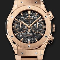 Hublot Classic Fusion Aero Chrono King Gold Bracelet 45 mm