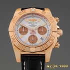 Breitling NEW HB0140 Chronomat 41 18K Solid Rose Gold Chronogr...