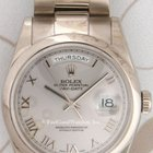 Rolex 118209 Oyster Day-Date, White Gold, P Series