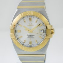 Omega Constellation Double Eagle 38mm Steel Gold