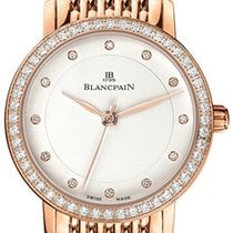 Blancpain Villeret Ultra Slim Ladies Automatic 29mm 6102-2987a...