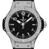 Hublot Big Bang 38mm Quartz Steel Pavé