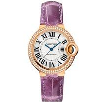 Cartier Ballon Bleu Automatic Ladies Watch Ref WE902066