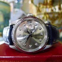 Rolex Oyster Perpetual Datejust Stainless Steel Gold Diamond...