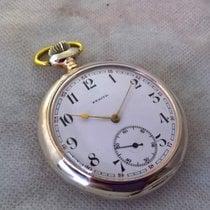 Zenith vintage silver serviced pocket watch