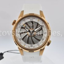 Perrelet Yacht White in steel with bronze PVD coating