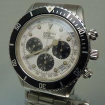 Zenith chronograph  El Primero De Luca 02.2313.400 with warranty