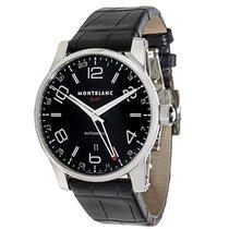 Montblanc Timewalker GMT 36065 Men's Watch in Stainless Steel