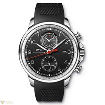 IWC Portuguese Yacht Club Chronograph Stainless Steel Black...