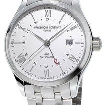 Frederique Constant Classics GMT Automatic Steel Mens Watch...