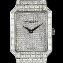 Vacheron Constantin Platinum Fully Loaded Diamond Set Wristwatch