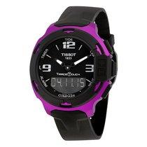 Tissot T-Race Touch Aluminium Black Silicon Mens Sports Watch...