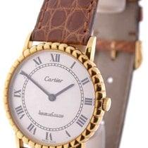 Jaeger-LeCoultre Cartier Vintage Windup Watch 18K Yellow Gold...