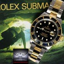 Rolex Submariner Date 18k Yellow Gold/Steel Black Dial/Bezel...