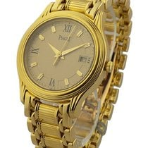 Piaget 23001M501D Ladys Mid Size Polo - Yellow Gold on...