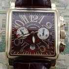 Franck Muller Conquistador King Cortez 18K Gold Big 45mm
