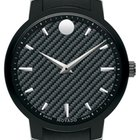 Movado Gravity Black Carbon Fiber   Men's 0606849