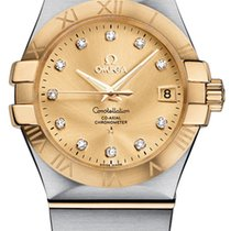 Omega [NEW] Constellation Champagne 123.20.35.20.58.001