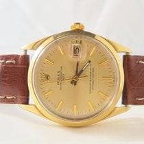 Rolex Date Oyster Perpetual Steel Gold