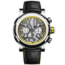 Romain Jerome Steampunk Yellow Chronograph Automatic Men's...